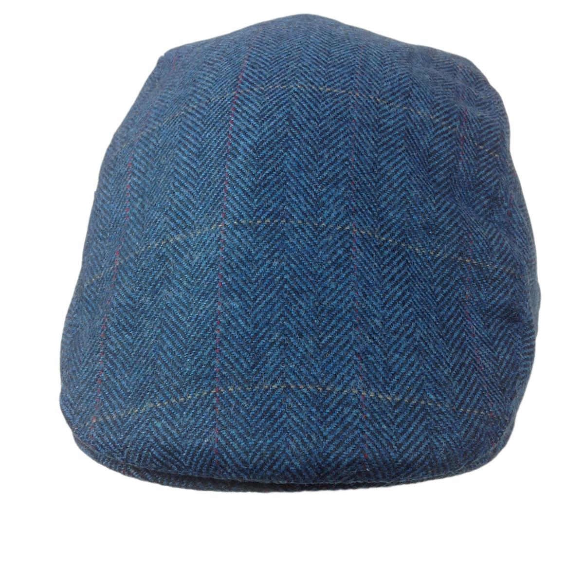 b1bb624520a Click to enlarge. HomeCountrywear Selby TWEED WOOL Flat Cap with Quilted  Inner Lining Sizes M L XL Waterproof and Breathable